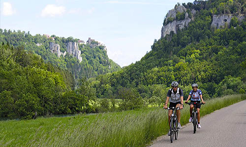 Cycling through the heart of Europe