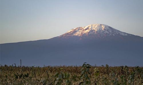 Kilimanjaro from a distance