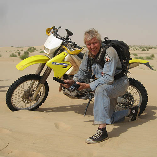 Adventure By Motorcycle - Austin Vince - sahara