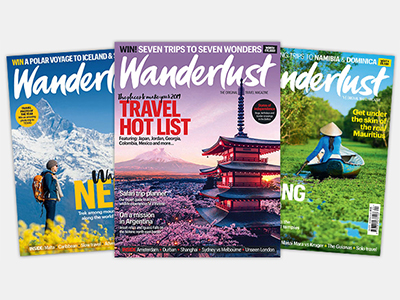 Wanderlust Magazine Covers